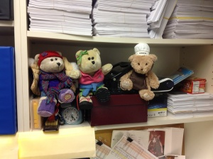 The Bears in my office